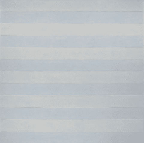 Lithograph by Agnes Martin