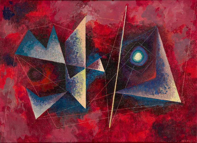 abstract painting by Emil Bisttram